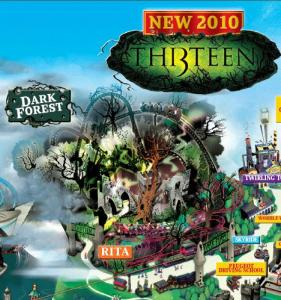 Alton Towers - Th13teen